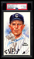 Joe Sewell Signed LE 1980-02 Perez-Steele Hall of Fame Postcards #163 (PSA Encapsulated) at PristineAuction.com