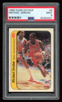 Michael Jordan 1986-87 Fleer Stickers #8 (PSA 9) at PristineAuction.com