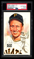 Ralph Kiner Signed LE 1980-02 Perez-Steele Hall of Fame Postcards #151 (PSA Encapsulated) at PristineAuction.com