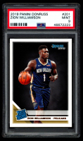 Zion Williamson 2019-20 Donruss #201 RC (PSA 9) at PristineAuction.com