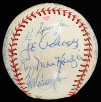 1959-60 Braves Baseball Team-Signed by (22) with Eddie Mathews, Al Lopez, Joe Adcock, Mel Allen, Andy Pafko (JSA ALOA) at PristineAuction.com