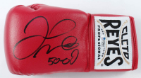 """Floyd Mayweather Jr. Signed Cleto Reyes Boxing Glove Inscribed """"50-0"""" (Beckett Hologram) at PristineAuction.com"""