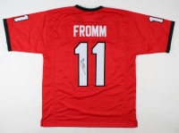 Jake Fromm Signed Jersey (Beckett COA) at PristineAuction.com
