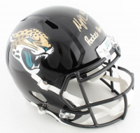 "Maurice Jones-Drew Signed Jaguars Full-Size Speed Helmet Inscribed ""Pocket Hercules"" (JSA COA) at PristineAuction.com"