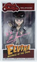 "Cassandra Peterson Signed Elvira ""Mistress of the Dark"" Rock Candy Vinyl Figurine Inscribed ""XX"" (JSA COA) at PristineAuction.com"