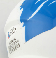 Calvin Johnson Signed Lions AMP Alternate Speed Mini Helmet (Beckett COA) at PristineAuction.com