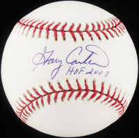 "Gary Carter Signed OML Baseball Inscribed ""HOF 2003"" (Carter Hologram) at PristineAuction.com"