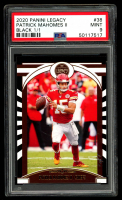 Patrick Mahomes II 2020 Panini Legacy Black #38 (PSA 9) (Serially Numbered # 1/1) at PristineAuction.com