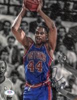 Rick Mahorn Signed Pistons 8x10 Photo (PSA COA) at PristineAuction.com