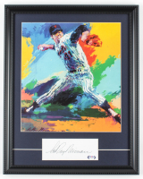 LeRoy Neiman Signed Tom Seaver 16x20 Custom Framed Cut Display (PSA COA) at PristineAuction.com