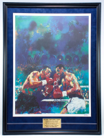 Mike Tyson Signed 24x32 Custom Framed LeRoy Neiman Lithograph Display (PSA COA) at PristineAuction.com
