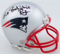 "Bill Belichick Signed New England Patriots Mini Helmet Inscribed ""Pats"" (Beckett COA) at PristineAuction.com"
