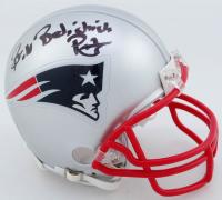 "Bill Belichick Signed New England Patriots Mini Helmet Inscribed ""Pats"" (Beckett COA) at PristineAuction.com"
