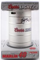 Sterling Marlin Signed NASCAR Coors Light Keg (JSA COA) at PristineAuction.com