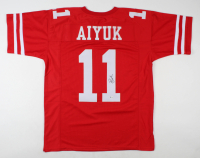 Brandon Aiyuk Signed Jersey (Beckett COA) at PristineAuction.com