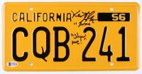 "Keith Gordon Signed ""Christine"" California License Plate Inscribed ""Show Me!"" (Beckett COA) at PristineAuction.com"