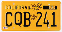 "Keith Gordon Signed ""Christine"" California License Plate Inscribed ""Show Me!"" (Beckett COA) at PristineAuction.com"
