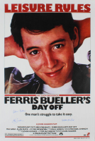 "Matthew Broderick, Mia Sara, & Alan Ruck Signed ""Ferris Bueller's Day Off"" 27x40 Movie Poster (Schwartz Sports Hologram) at PristineAuction.com"