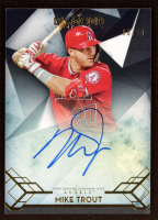 Mike Trout 2020 Topps Diamond Icons Autographs #ACMT at PristineAuction.com