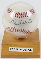 Stan Musial Signed Baseball With Display Case (JSA COA) at PristineAuction.com