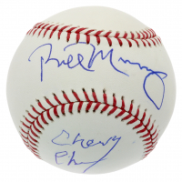 Bill Murray & Chevy Chase Signed OML Baseball (Beckett COA & PSA COA) at PristineAuction.com