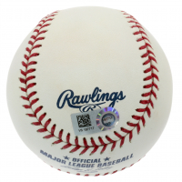 Mike Trout Signed 2010 All-Star Futures Game Baseball (MLB Hologram) at PristineAuction.com