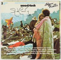 Jorma Kaukonen, Jack Cassidy, & Edgar Winter Signed Woodstock Vinyl Album (JSA COA) at PristineAuction.com
