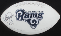 Vince Ferragamo Signed Rams Logo Football (JSA COA) at PristineAuction.com