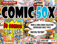 """COMIC BOOK 50X SERIES"" MYSTERY BOX –(50) COMICS PER BOX! at PristineAuction.com"