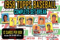 1958 Topps Baseball Complete Set Break BOX –12 CARDS PER BOX! at PristineAuction.com