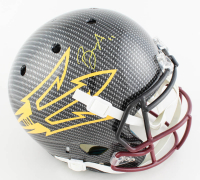 Brandon Aiyuk Signed Arizona State Sun Devils Authentic Full-Size On-Field Hydro-Dipped Helmet (Beckett COA) at PristineAuction.com