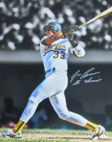 """Jose Canseco Signed Athletics 16x20 Photo Inscribed """"The Chemist"""" (JSA COA) at PristineAuction.com"""