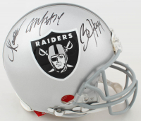 Marcus Allen, Bo Jackson & Marshawn Lynch Signed Raiders Full-Size Authentic On-Field Helmet (JSA COA & Radtke COA) at PristineAuction.com