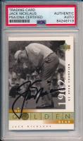 Jack Nicklaus Signed 2001 Upper Deck #106 (PSA Encapsulated) at PristineAuction.com