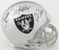 Marcus Allen, Bo Jackson & Marshawn Lynch Signed Raiders Full-Size Authentic On-Field Helmet (JSA COA & Radtke COA) at PristineAuction.com