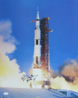 "Edgar Mitchell Signed ""Apollo 14"" 16x20 Photo Inscribed ""Apollo 14"" (JSA COA) at PristineAuction.com"