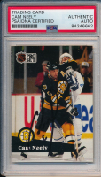 Cam Neely Signed 1991-92 Pro Set Canadian #5 (PSA Encapsulated) at PristineAuction.com