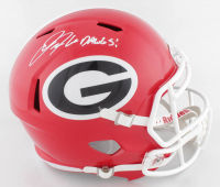 """Jake Fromm Signed Georgia Bulldogs Full-Size Speed Helmet Inscribed """"Go Dawgs!"""" (Beckett COA) at PristineAuction.com"""