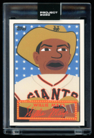 Willie Mays Topps Project 2020 #244 / Keith Shore (Project 2020 Encapsulated) at PristineAuction.com