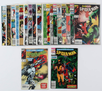 Lot of (20) Marvel Comics Spider-Man Comic Books Issues Ranging from #1 - #262 at PristineAuction.com