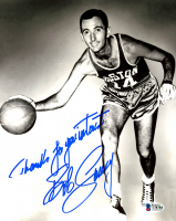 "Bob Cousy Signed Celtics 8x10 Photo Inscribed ""Thanks For Your Interest"" (Beckett COA) at PristineAuction.com"