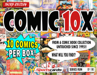 "Sportscards.com ""COMIC BOOK 10X SERIES"" MYSTERY BOX – (10) COMICS PER BOX! 3rd Edition at PristineAuction.com"
