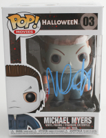 "Nick Castle Signed ""Halloween"" #03 Michael Myers Funko Pop! Vinyl Figure (PSA Hologram) at PristineAuction.com"