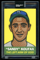 Sandy Koufax 2020 Topps Project 2020 #250 / Blake Jamieson (Project 2020 Encapsulated) at PristineAuction.com