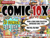 "Sportscards.com ""COMIC BOOK 10X SERIES"" MYSTERY BOX – (10) COMICS PER BOX! 4th Edition at PristineAuction.com"