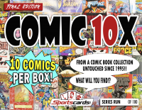 "Sportscards.com ""COMIC BOOK 10X SERIES"" MYSTERY BOX – (10) COMICS PER BOX! – FINAL EDITION at PristineAuction.com"