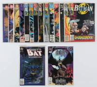 Lot of (15) DC Batman Comic Books Issues Ranging from #1 - #486 at PristineAuction.com