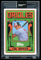 Cal Ripken Jr. 2020 Topps Project 2020 #241 / Grotesk (Project 2020 Encapsulated) at PristineAuction.com