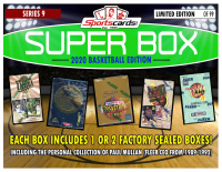 "Sportscards.com ""SUPER BOX"" Basketball 1990'S FACTORY SEALED BOX Edition Mystery Box -Series 9 at PristineAuction.com"