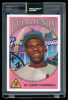Bob Gibson 2020 Topps Project 2020 #249 / Ben Baller (Project 2020 Encapsulated) at PristineAuction.com